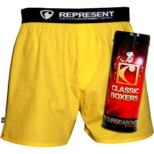 Represent Boxerky Mike Yellow 14280 R4M-BOX-0280 XXL
