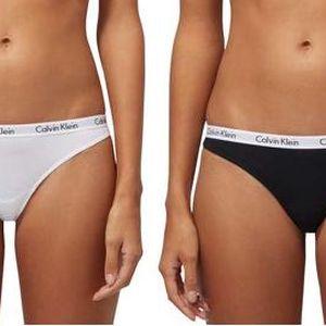 Calvin Klein Sada dámských kalhotek 3PK Bikini D1622E-WZB L