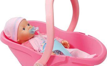 My Little Baby Born® Super Soft s přenosnou sedačkou