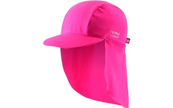Reima Dívčí kšiltovka s UV ochranou 50+ Somme supreme pink