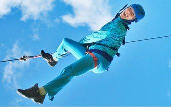 Dva adrenalinové lety na extra dlouhé lanovce