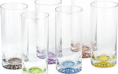 6dílná sada skleniček