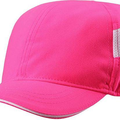 Reima Dívčí kšiltovka s UV ochranou 50+ Santorini supreme pink