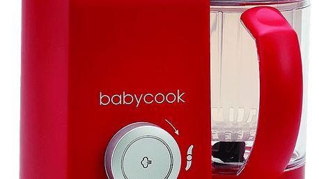 BEABA Parní vařič + mixér Babycook Solo červený