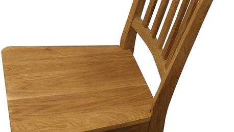 Jídelní židle Židle - 4842, dekor dub