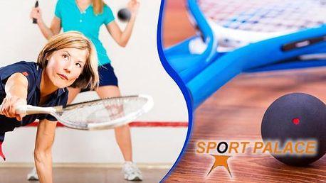 SportPalace Doubravka - hodina squashe za perfektní cenu v Plzni. Přijďte si zahrát kdykoliv během dne - jsme největší squashové centrum v Plzni. Squash je ideálním sportem pro vyplavení adrenalinu, udržení kondice a relaxaci.