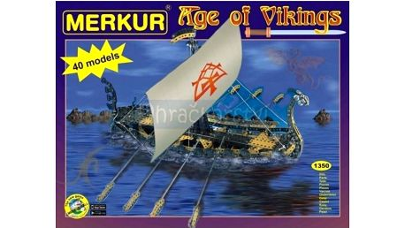 Merkur Age of Vikings 40 modelů