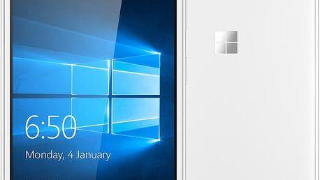 Microsoft Lumia 650 Dual SIM, bílá - A00027056 + Zdarma CulCharge MicroUSB kabel - přívěsek (v ceně 249,-)