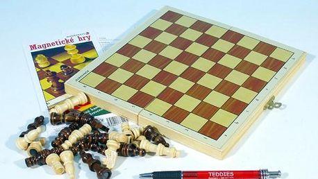 Šachy magnetické společenská hra