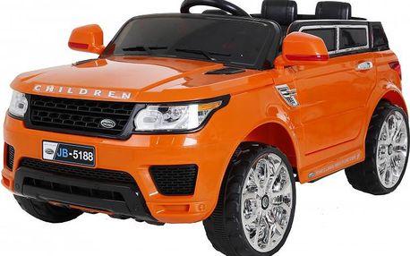 Dětské autíčko Nico, svítící kola a světla, MP3 přehrávač a mnoho dalšího :)
