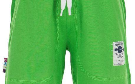 LOAP Chlapecké sportovní kraťasy Isidor - zelené