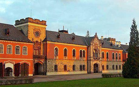 Letní dovolená s wellness na zámku Sychrov
