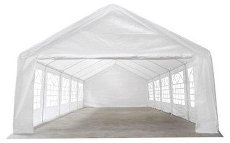 Zahradní párty Horneet 5x10 metrů, bílý, doprava zdarma