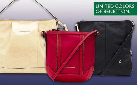 Italské kabelky Benetton – elegance přes rameno