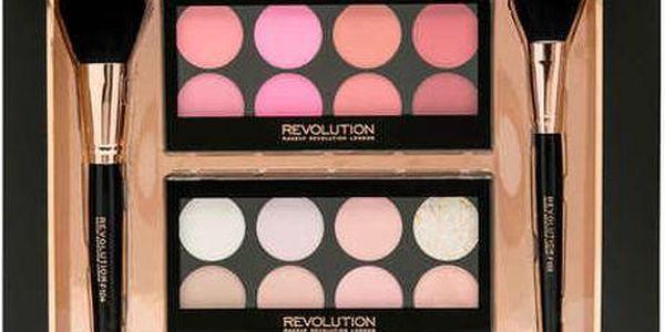 Makeup Revolution Profesionální dárková sada Blush & Highlight Expert - Limitovaná kolekce 2015