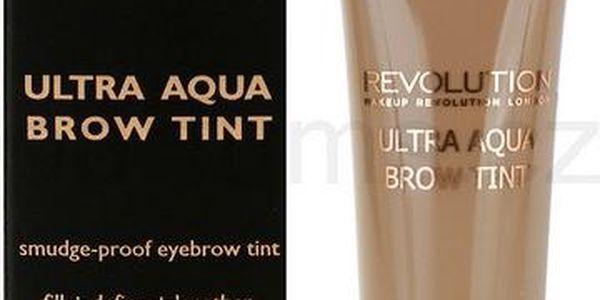 Makeup Revolution Tónovací barva na obočí (Ultra Aqua Brow Tint) 10 ml Medium