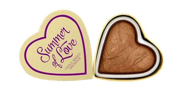 Makeup Revolution Srdcový bronzer Léto I LOVE MAKEUP (Hearts Bronzer Love Hot Summer) 10 g