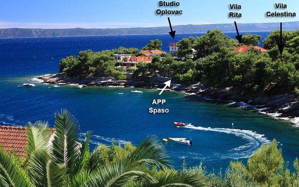 Chorvatsko - Vila Rita - Ostrov Brač / bez stravy, vlastní doprava, 6 nocí, 10 osob