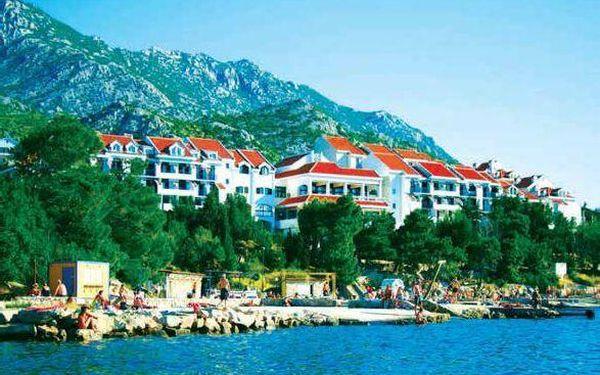 Kvarnerská riviéra, Chorvatsko, Hotel Zagreb, vlastní doprava, all inclusive