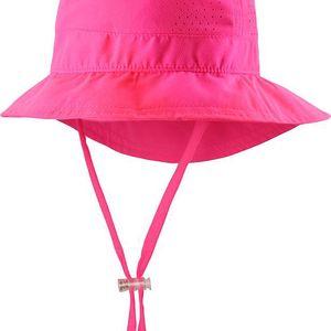 Reima Dívčí klobouček s UV ochranou 50+ Tropical supreme pink
