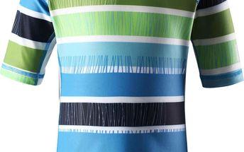 Reima Chlapecké plavecké tričko s UV 50+ Fiji ocean blue
