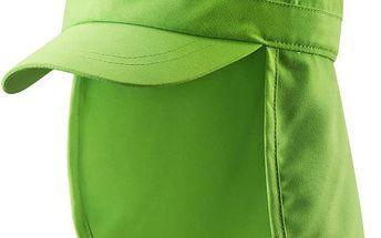 Reima Dětská kšiltovka s UV ochranou 50+ Aloha grass green