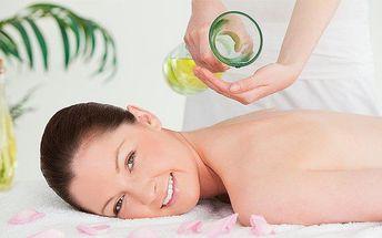 50minutová zdravotní nebo konopná masáž v ostravském studiu Paradise