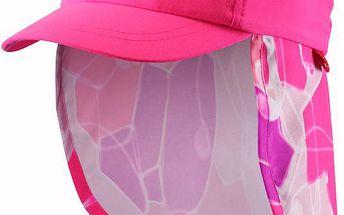 Reima Dívčí kšiltovka s UV ochranou 50+ Alytos supreme pink