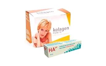 ROSENTRADE A.S. RosenTrade a.s. Kolagen FORTE + Kyselina hyaluronová 180 tablet + Rosen HA gel kyseliny hyaluronové 16 ml