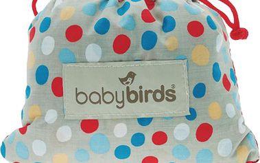 BABYBIRDS Kapesní sedátko River stone