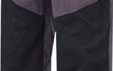 Hannah Chlapecké plátěné kalhoty Twin - šedo-černé, 128 cm