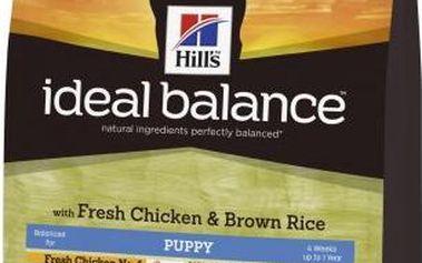 Hill's Ideal Balance Puppy s čerstvým kuřetem a hnědou rýží 2 kg