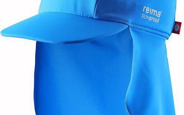 Reima Chlapecká kšiltovka s UV ochranou 50+ Somme ocean blue