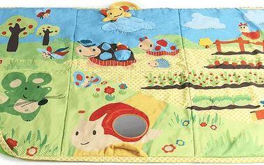 BABYBIRDS Velká hrací deka Na zahrádce