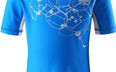 Reima Chlapecké plavecké tričko s UV 50+ Crete ocean blue