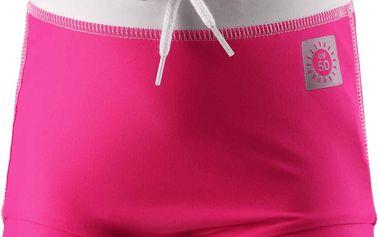Reima Dívčí plavecké šortky Belize s UV 50+ supreme pink