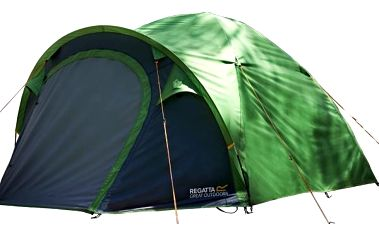 Campingový stan pro 3 osoby Regatta RCE003 KIVU 3 ExtrmGrn 3FC