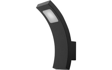 FIERA N nástěnné zahradní LED svítidlo - studená bílá, Panlux