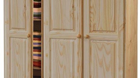 Skříň 3 dveřová 8863, lakovaná úprava
