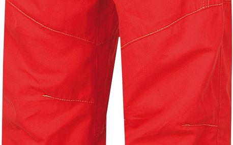 Hannah Dětské plátěné kalhoty Twin - červené, 116 cm