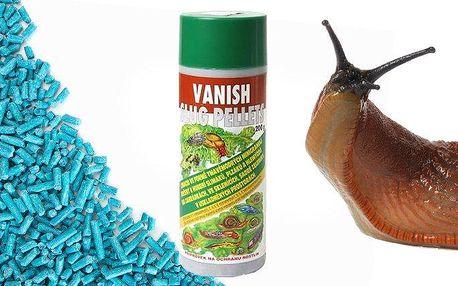 Přípravek Vanish Slug Pellets na hubení slimáků, hlemýžďů a plzáků