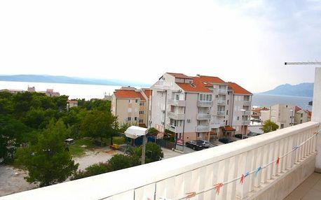 Chorvatsko - Baška Voda na 8 dní, polopenze s dopravou vlastní