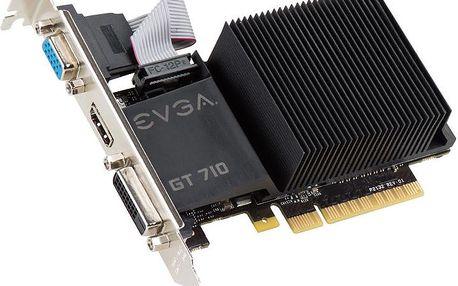 EVGA GT 710 LP, pasive, 2GB - 02G-P3-2712-KR
