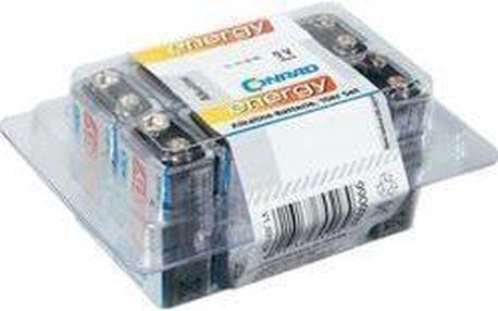 Baterie Conrad Energy 9V 10ks