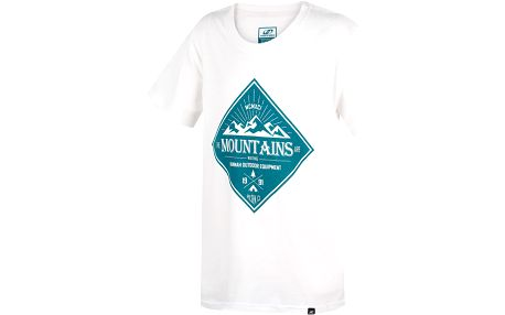 Hannah Chlapecké tričko Duckie JR - bílé