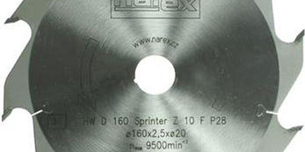 Narex 160×2.5×20 10FZ - Sprinter ; 00647503