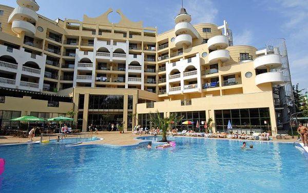 Bulharsko - Slunečné Pobřeží na 8 až 12 dní, all inclusive s dopravou vlastní, letecky z Prahy nebo letecky z Ostravy 150 m od pláže