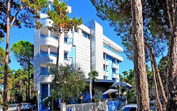 Itálie, Bibione Lido del Sole, Hotel Alemagna, vlastní doprava, polopenze