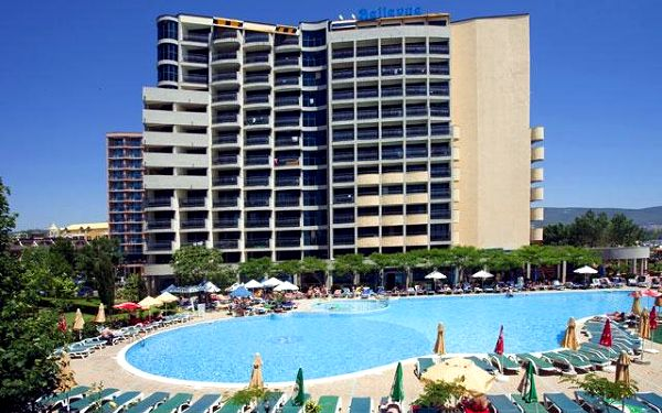Bulharsko - Slunečné Pobřeží na 11 dní, all inclusive s dopravou letecky ze Sliače 10 m od pláže