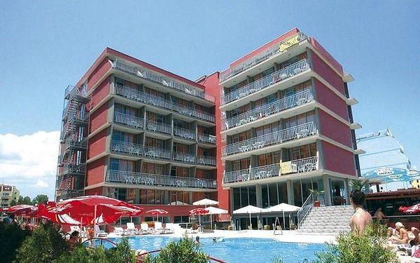 Bulharsko - Slunečné Pobřeží na 8 až 15 dní, snídaně s dopravou letecky z Prahy 400 m od pláže